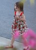 Suri Cruise spotted at CBS Studios on June 19th 2009 with her mom 4