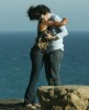 kevin jonas and his girlfriend danielle deleasa seen hugging