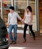 kevin jonas and his girlfriend danielle deleasa walking hand in hand
