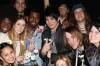 Adam Lambert visiting Hair on Broadway on May 26th 2009 1