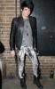 Adam Lambert visiting Hair on Broadway on May 26th 2009 6
