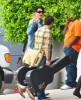Adam Lambert and Kris Allen seen arriving at the Recording Studio on June 10th 2009 1