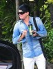 Adam Lambert spotted going to the Recording Studio on June 10th 2009 1