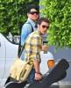 Adam Lambert and Kris Allen seen arriving at the Recording Studio on June 10th 2009 2
