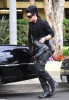 Adam Lambert arrives at the recording Studio on June 13th 2009 2