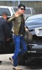 Adam Lambert spotted going to the Recording Studio on June 10th 2009 4
