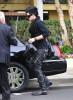 Adam Lambert arrives at the recording Studio on June 13th 2009 6