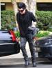Adam Lambert arrives at the recording Studio on June 13th 2009 5