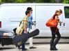 Adam Lambert and Kris Allen seen arriving at the Recording Studio on June 10th 2009 3