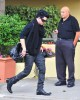 Adam Lambert arrives at the recording Studio on June 13th 2009 1