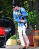 Adam Lambert spotted going to the Recording Studio on June 10th 2009 2
