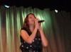 Aya Abdul Raoof from Egypt at Ain Shams university concert 1