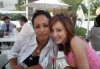 Basma Boussil picture with her friend