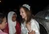 Basma Boussil arrives at Moroccan airport 2