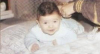Michel Azzi as a baby infant
