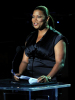 Queen Latifa on stage during the Michael Jackson Memorial Service