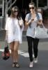 Kim Kardashian spotted att Fred Segal with her sister Kourtney Kardashian on Juy 8th 2009 2