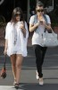 Kim Kardashian spotted att Fred Segal with her sister Kourtney Kardashian on Juy 8th 2009 3