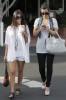 Kim Kardashian spotted att Fred Segal with her sister Kourtney Kardashian on Juy 8th 2009 4