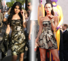 Haifa Wehbe and Megan Fox wearing the same dress