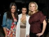 kim kardashian at a Private Dinner for the Diamond Empowerment Fund on July 16th 2009 together with her sister