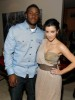 kim kardashian and her boyfriend Reggie Bush at a Private Dinner for the Diamond Empowerment Fund on July 16th 2009 5