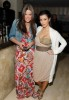 kim kardashian at a Private Dinner for the Diamond Empowerment Fund on July 16th 2009 with her sister