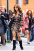Jennifer Lopez on the filming set of her upcoming movie The BackUp Plan in Tribeca in July 2009 1