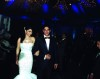 Haifa Wehbe picture from her wedding to Abu Hashima entering the ball room with her husband