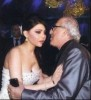 Haifa Wehbe picture from her wedding to Abu Hashima with director simon asmar