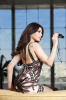 Haifa Wehbe recent photoshoot showing her shoulder eye tattoo