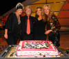 picture of Nigel Lythgoe with judge Mary Murphy host Cat Deeley and Mia Michaels at the celebration of the 100th episode of So You Think You Can Dance at CBS Studios on July 23rd 2009 in Los Angeles 5