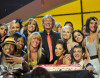 picture of Nigel Lythgoe with the cast and crew at the celebration of the 100th episode of So You Think You Can Dance at CBS Studios on July 23rd 2009 in Los Angeles 4