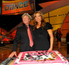picture of Nigel Lythgoe with judge Mary Murphy at the celebration of the 100th episode of So You Think You Can Dance at CBS Studios on July 23rd 2009 in Los Angeles 2