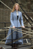 Mia Wasikowska pictures on the filming set of Alice in Wonderland 2010 movie 3