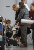 Eddie Vedder and his daughter Olivia Vedder at the airport in Toronto Ontario back in September 2007 1