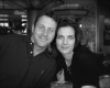 Terry Farrell picture with Brian Baker 2