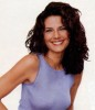 Terry Farrell desktop wallpaper curly hair style