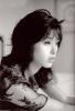Noriko Sakai photo shoot black and white