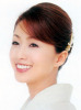Noriko Sakai photo shoot smiling white teeth
