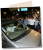 Noriko Sakai picture arriving to the police station inside the police car inTokyo on August 8th 2009 1