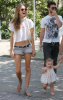 Alessandra Ambrosio spotted with her fiance Jaime Mazur and daughter walking towards the beach in Venice California on July 18th 2009 4