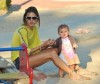 Alessandra Ambrosio spotted playing with her little daughter Anja Louise at a park in Santa Monica on July 7th 2009 4