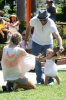 Alessandra Ambrosio with her fiance Jamie and her daughter Anja walking at Malibu beach on July 16th 2009 5