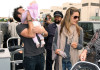 Alessandra Ambrosio spotted with her daughter Anja Louise and fiance Jamie Maur at LAX airport on June 2nd 2009 4