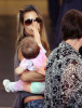 Alessandra Ambrosio seen with her daughter Anja Louise at LAX airport on June 2nd 2009 6