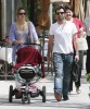Alessandra Ambrosio with her daughter Anja and boyfriend Jaime Mazur leaving the Il Pastaio restaurant in Beverly Hills on May 26th 2009 7