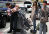 Alessandra Ambrosio spotted with her daughter Anja Louise and fiance Jamie Maur at LAX airport on June 2nd 2009 3
