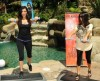 Kim Kardashian and her sister and Kourtney Kardashian picture of Fit in your Jeans Promotional  campaign of August 2009 2
