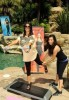 Kim Kardashian and her sister and Kourtney Kardashian picture of Fit in your Jeans Promotional  campaign of August 2009 4